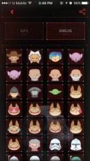 Star Wars App Emoji and GIF
