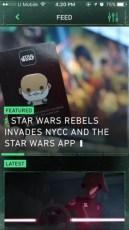 Star Wars App - Feed