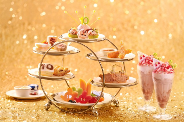 10th Anniversary Afternoon Tea Set
