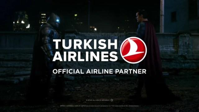 Turkish Airlines Batman v Superman