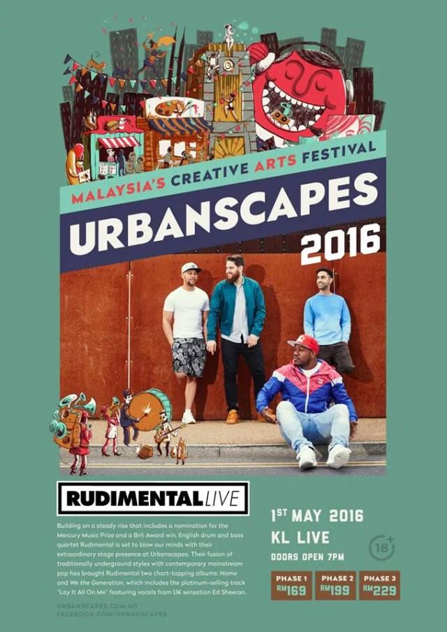 Urbanscapes 2016 Rudimental