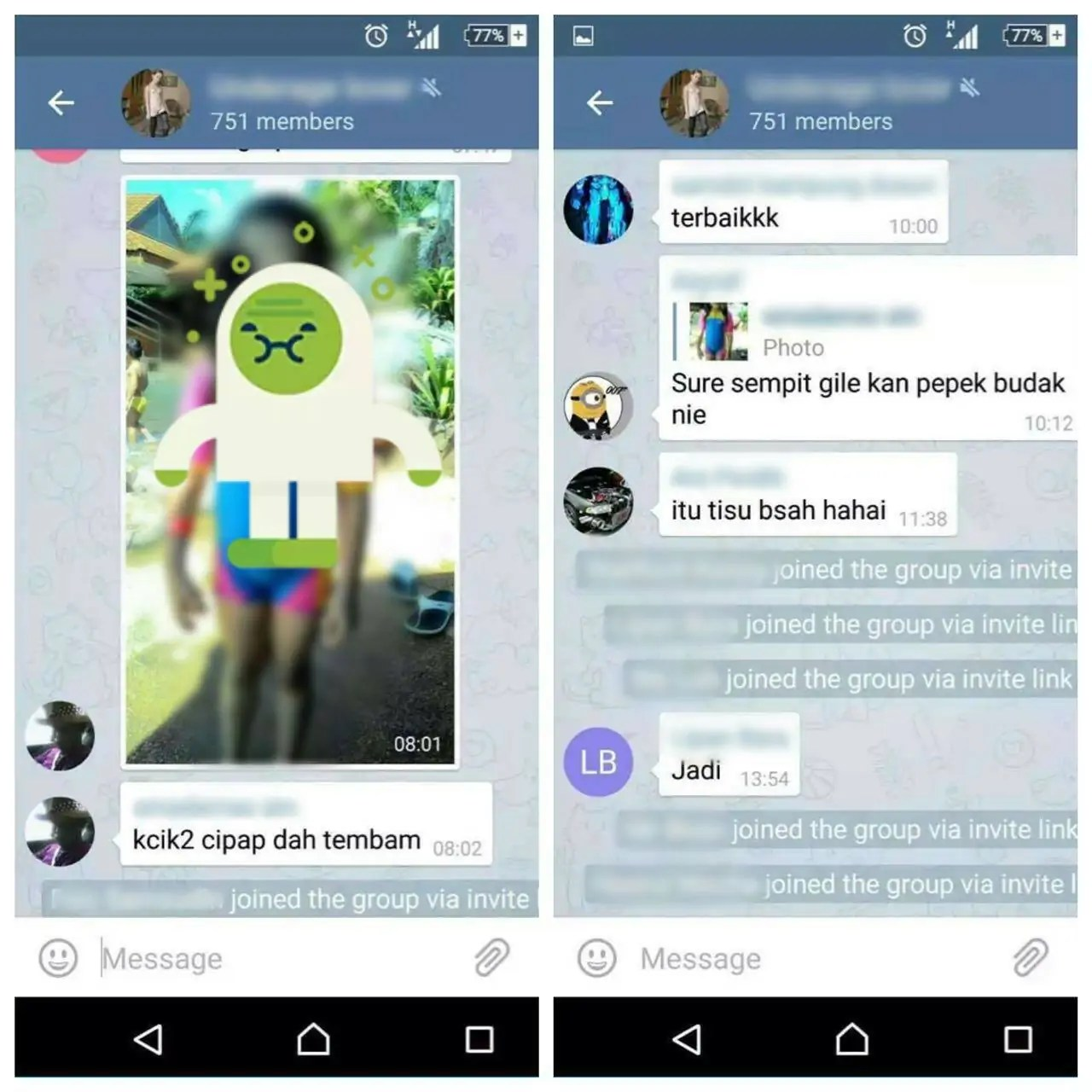 Malaysia: Local Paedophile Group On Telegram Exposed By