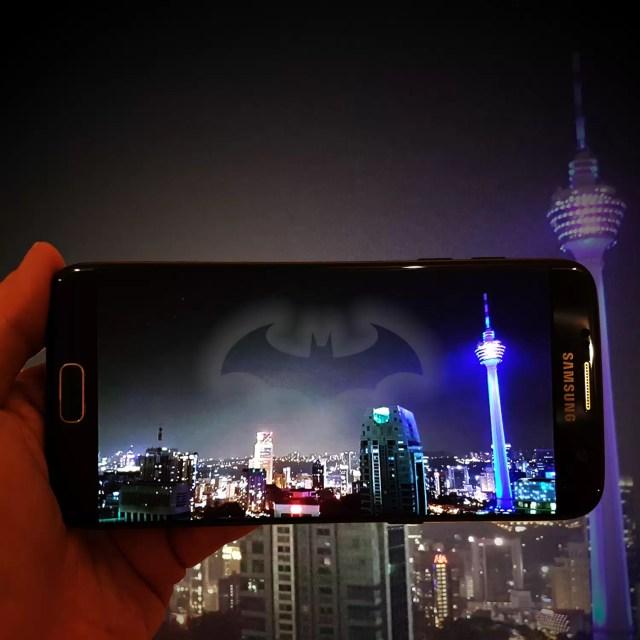 The Injustice Edition of Samsung Galaxy S7 edge in Kuala Lumpur