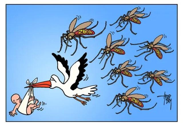 zika cartoon cagle