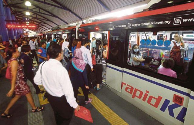 lrt monorail harian metro