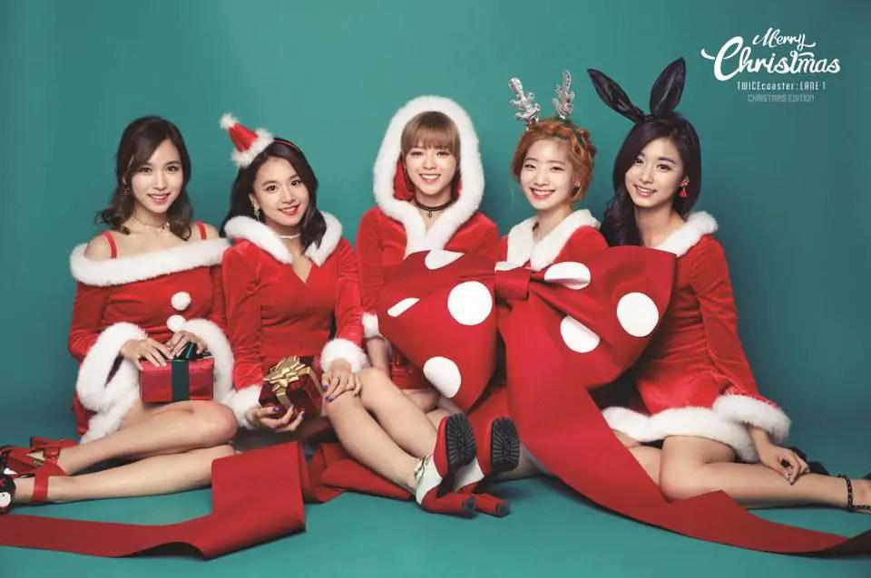 K On Christmas.Twice K Pop Girl Group Drops Teasers For Christmas Edition