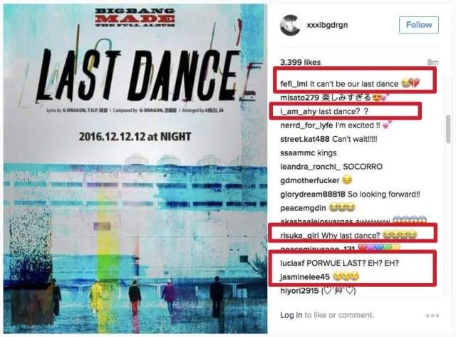 BIGBANG Last Dance