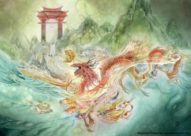 dragon cny