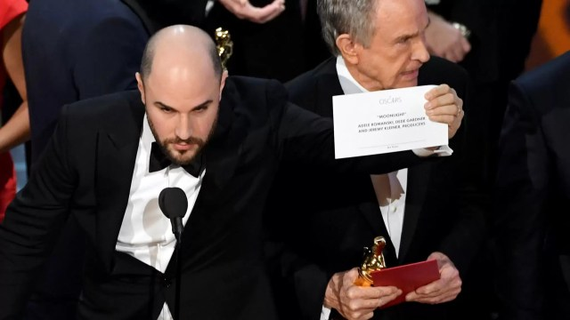 Oscar 2017 Moonlight La La Land