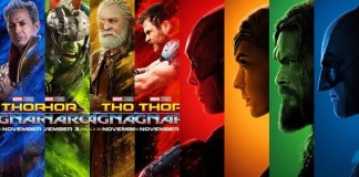 Justice League Thor Ragnarok