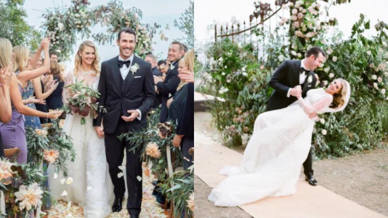 Kate Upton Wedding Dress.A Look Into Kate Upton Justin Verlander S Fairytale Italian Wedding