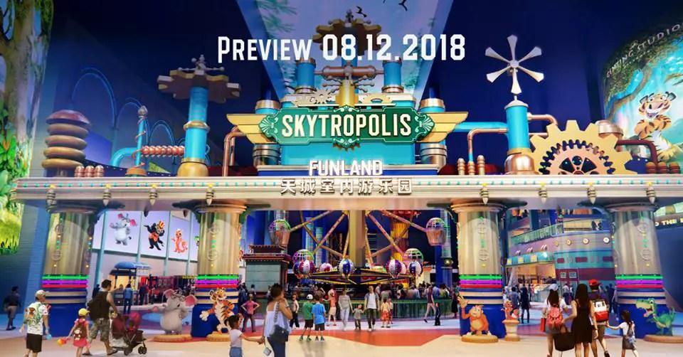 Image result for skytropolis funland genting