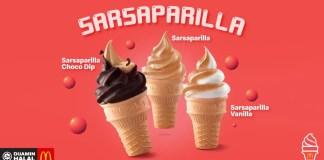 Sarsaparilla Ice Cream