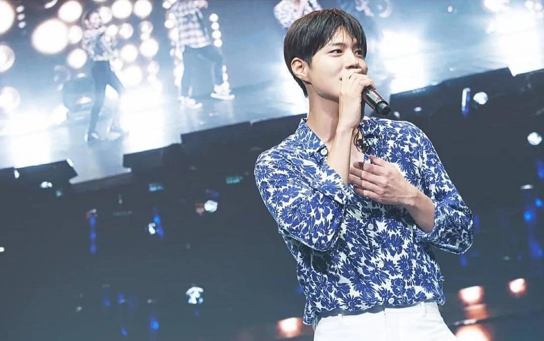 Park Bo-gum Serenades KL Crowd With His Rendition Of