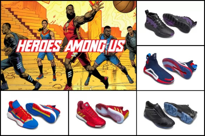 promo code e5ae5 31bd1 The campaign sees NBA and WNBA athletes James Harden, Damian Lillard, John  Wall, Candace Parker and Tracy McGrady channelling iconic Marvel characters  Iron ...