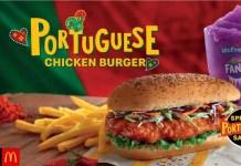 Portuguese Chicken Burger