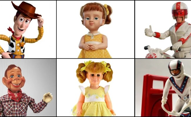 7 Toy Story 4 Characters Inspired By Real Vintage Toys