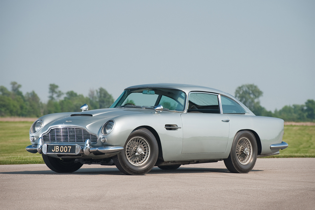 Aston Martin Db5 Back For James Bond's Skyfall Hypebeast