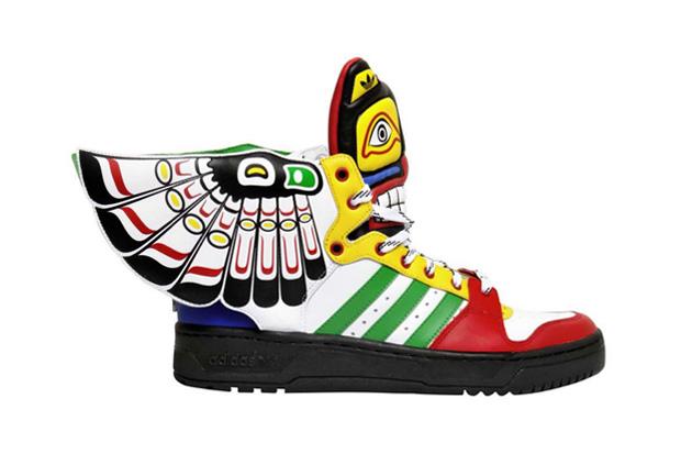 "Image of adidas Originals by Jeremy Scott JS Wings ""Totem"""
