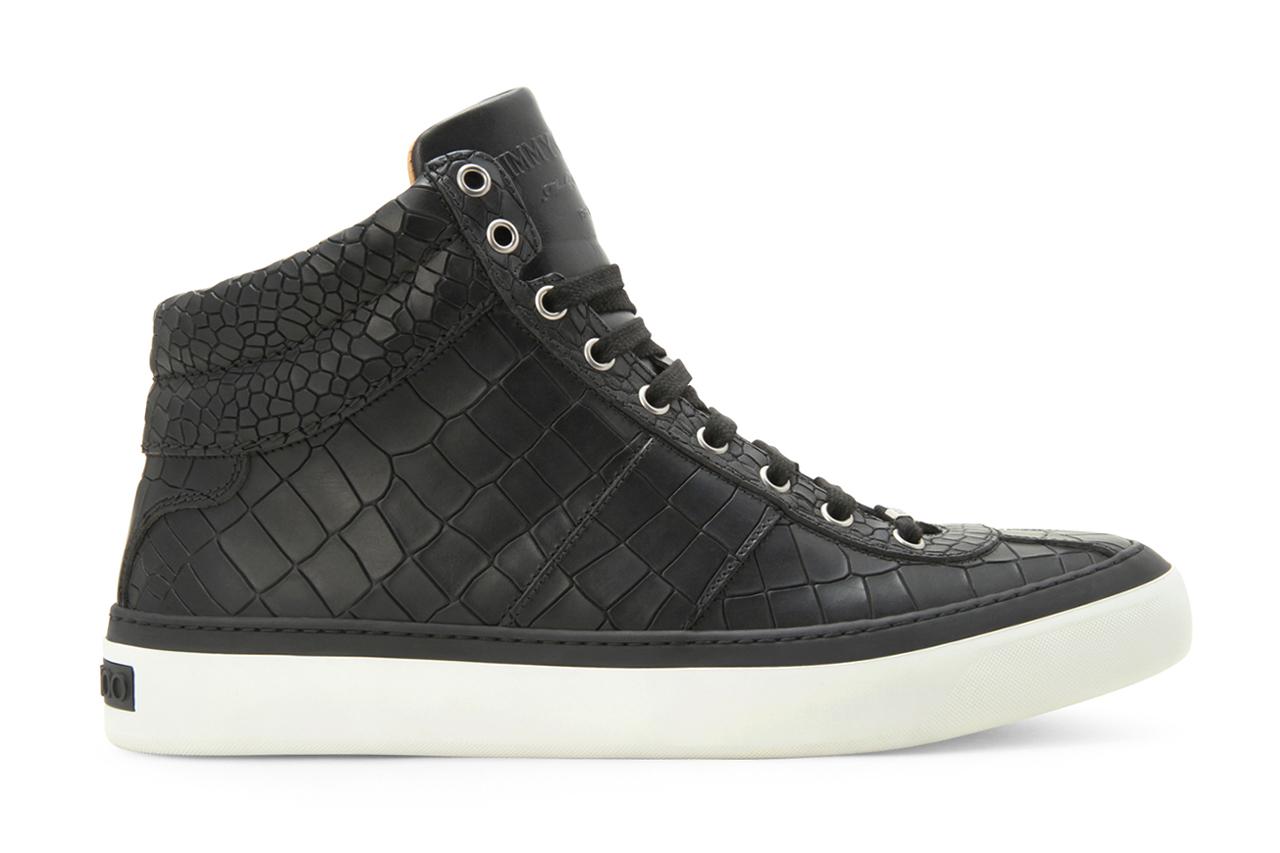 Image of Jimmy Choo 2013 Spring/Summer Croco Emboss Sneaker
