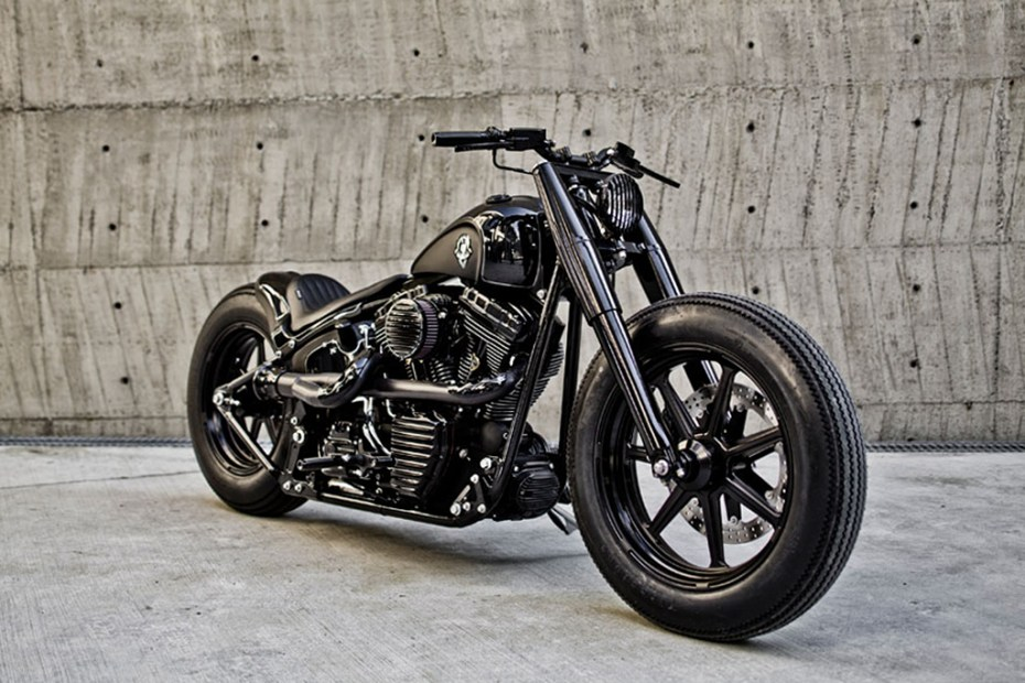 Rough Crafts & Roland Sands Design Shadow Rocket Motorcycle