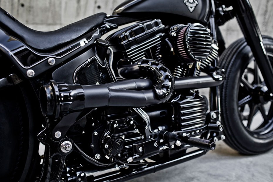 Image of Rough Crafts x Roland Sands Design Shadow Rocket Motorcycle