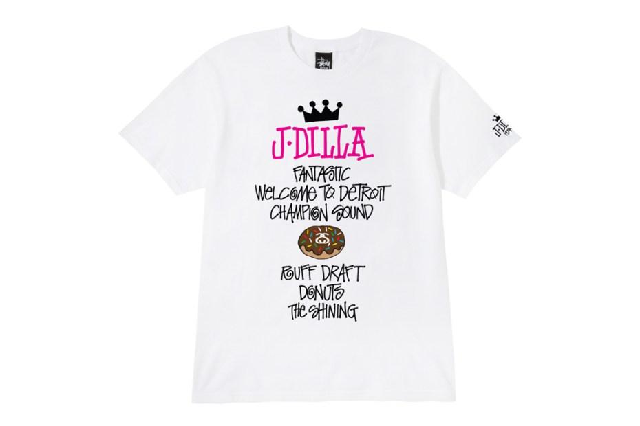 Image of J. Dilla x Stussy World Tour Tee