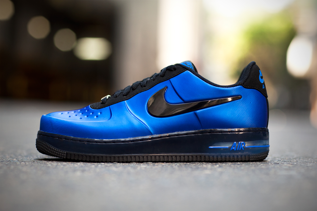 """Image of Nike Air Force 1 Low Foamposite """"Royal"""""""