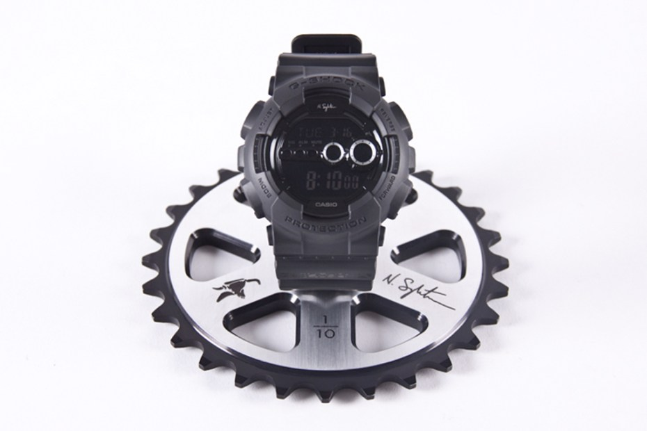 Image of Nigel Sylvester x G-Shock x Animal Bikes Limited Edition Autographed Sprocket Display