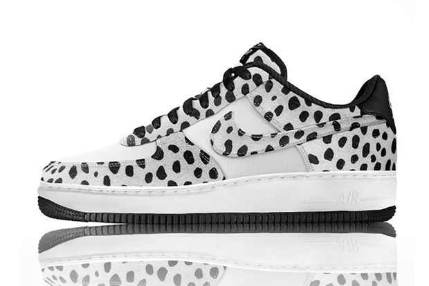 Image of Nike Air Force 1 iD Pony Hair Animal Print Options