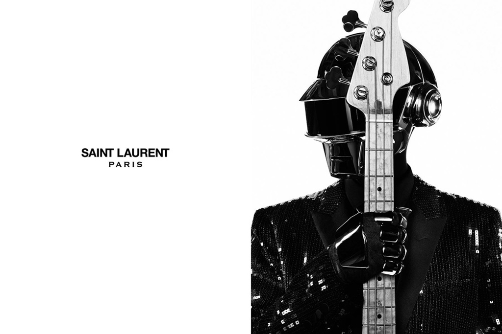 Image of Check Out Daft Punk's New Stagewear Designed by Saint Laurent