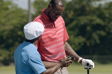 "LeBron James Stars in Samsung's ""Always On"" Commercial"