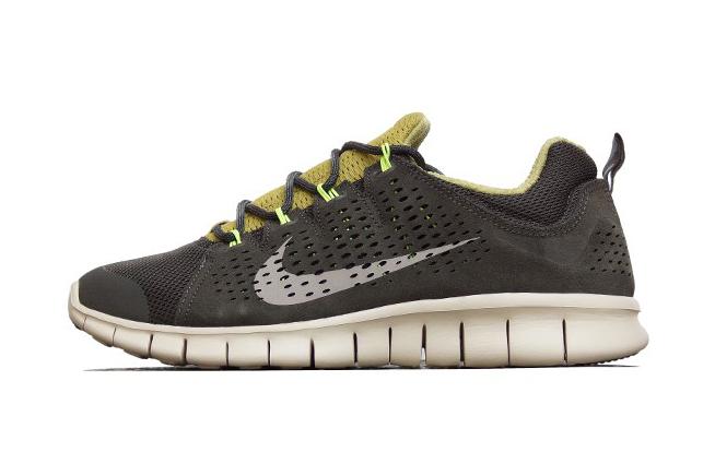 2ce2af7f0ae7 Nike Free Powerlines+ II LTR Newsprint Dusty Grey-Parachute Gold-Volt