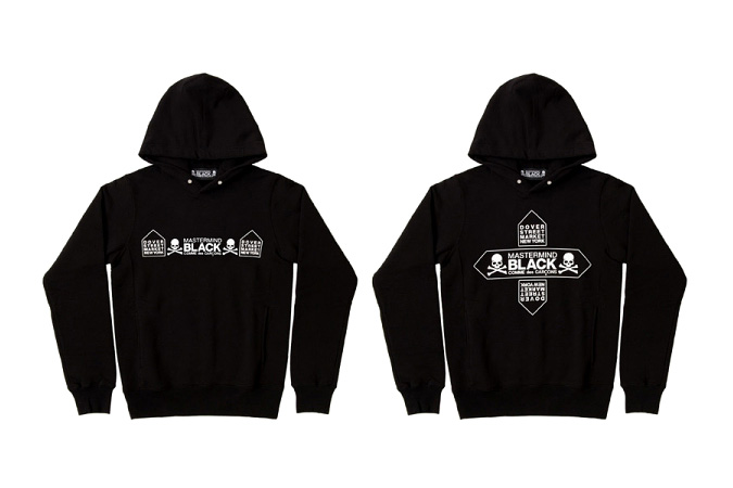 Image of mastermind JAPAN x COMME des GARCONS BLACK x Dover Street Market NY Capsule Collection
