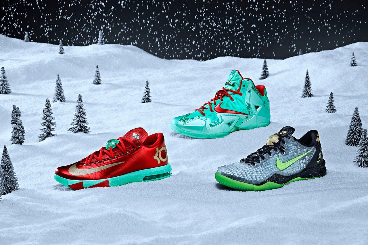 Nike Basketball 2013 Christmas Pack (Lebron, Kobe & KD) | The Gentry Man