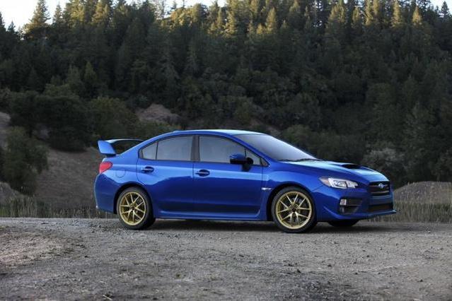 Image of 2015 Subaru WRX STI Preview