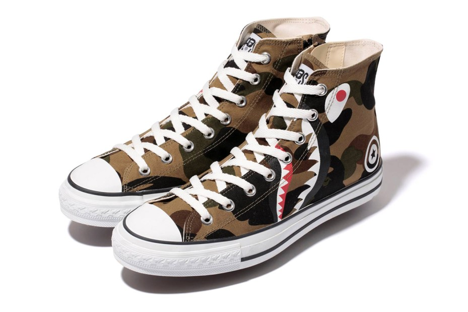 Image of A Bathing Ape 2014 Spring/Summer 1ST CAMO SHARK APE STA