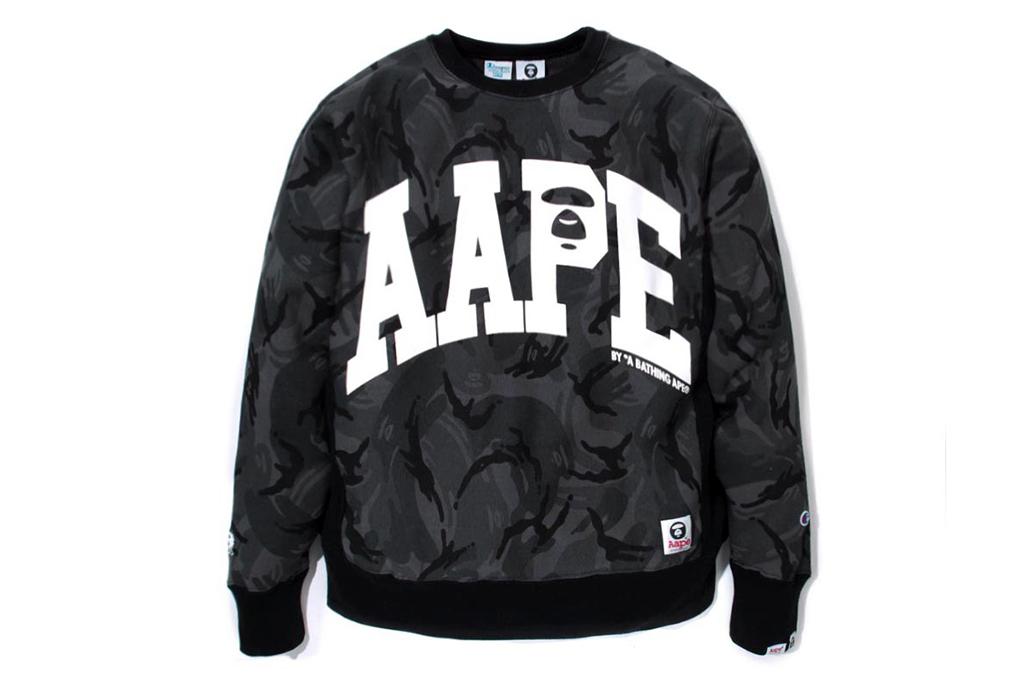 Image of AAPE by A Bathing Ape x Champion 2014 Capsule Collection