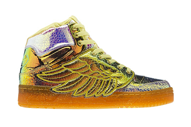 "Image of adidas Originals by Jeremy Scott 2014 Spring JS Wings ""Iridescent Foil"""
