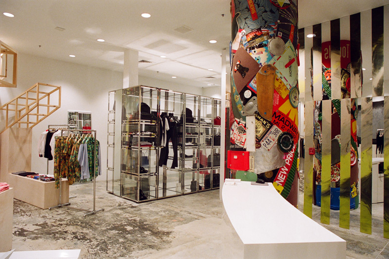 """Image of Dover Street Market New York """"Store Story"""" by Ari Marcopoulos"""