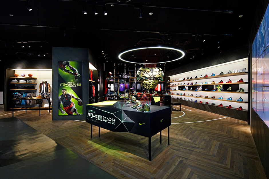 Image of Nike Basketball Store in Japan by Specialnormal