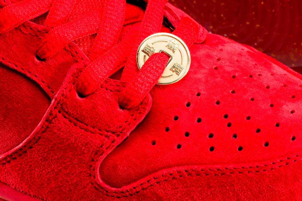 "Image of Nike SB Dunk High Premium ""Red Packet"""