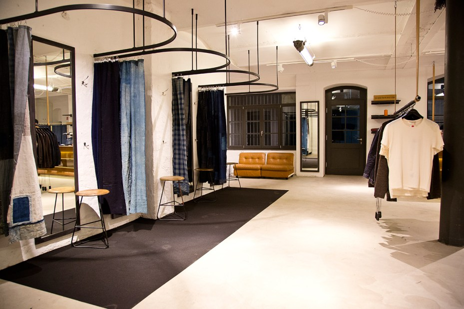 Image of Nudie Jeans Opens Repair Shop in Berlin