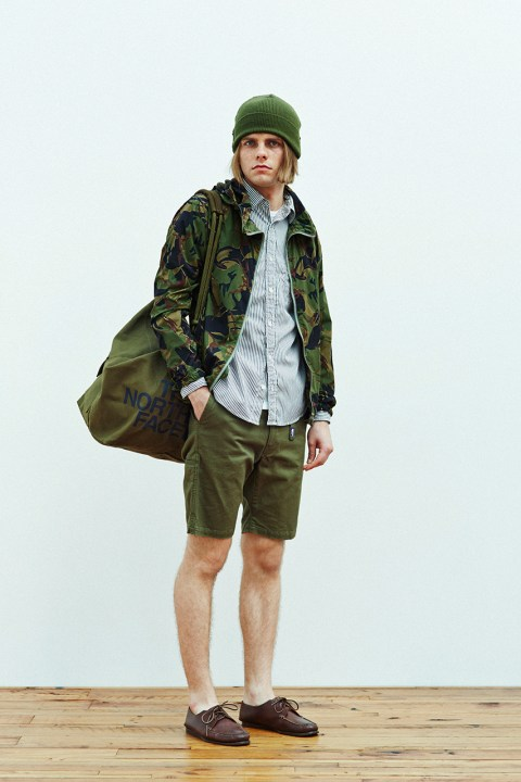 Image of THE NORTH FACE PURPLE LABEL 2014 Spring/Summer Collection