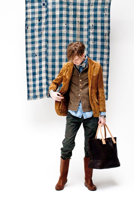 "Image of visvim 2014 Spring/Summer ""Dissertation On a Happiness with No Country"" Lookbook"