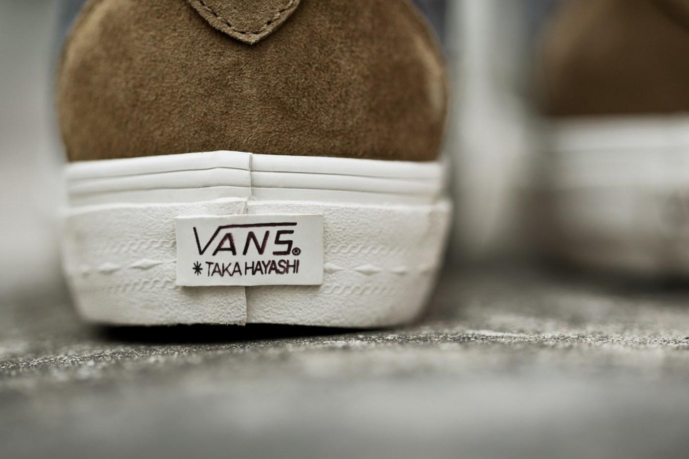 Image of Taka Hayashi x Vans Vault 2014 Spring TH Court Pack