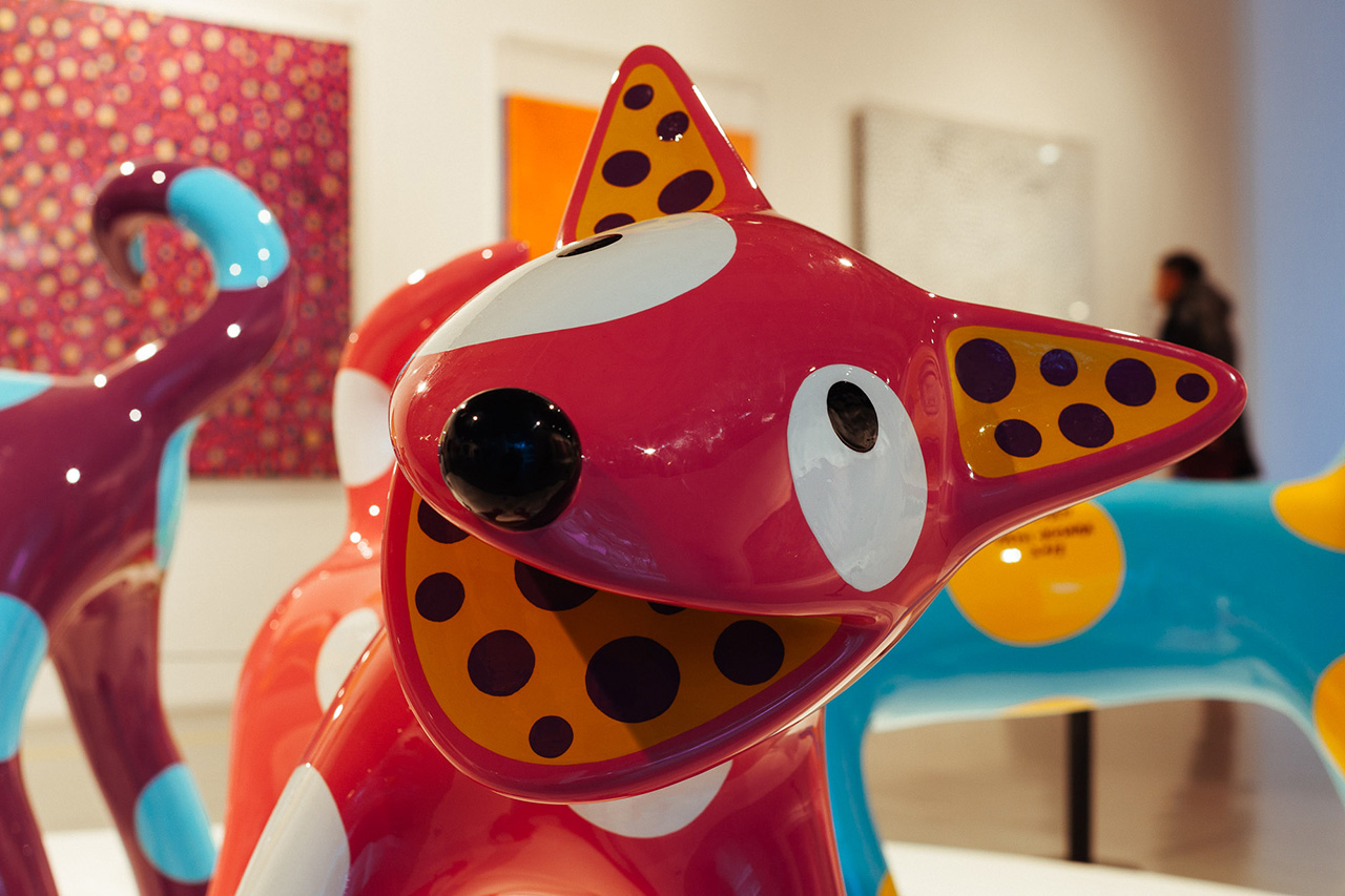 "Image of Yayoi Kusama ""A Dream I Dreamed"" Exhibition @ MoCA Shanghai Recap"