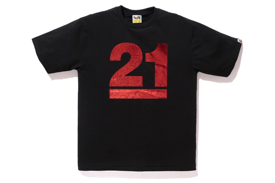 Image of A Bathing Ape 21 YEARS TEE