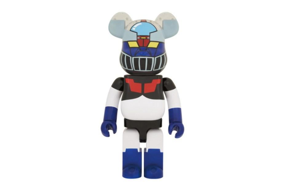 Image of Mazinger Z x Medicom Toy 1000% Bearbrick