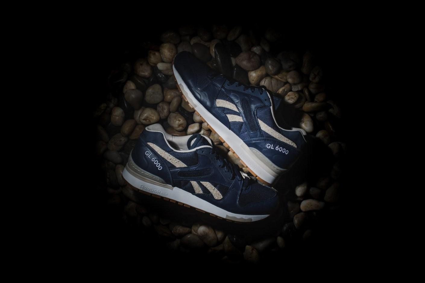 Reebok Navy/Pebble/White M40987 GL 6000 Shoe | HYPEBEAST Store